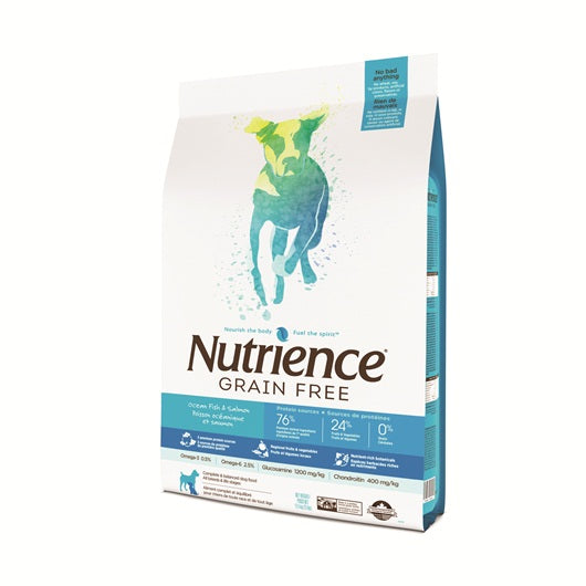 Nutrience Grain Free Ocean Fish & Salmon Dog Food (10kg)