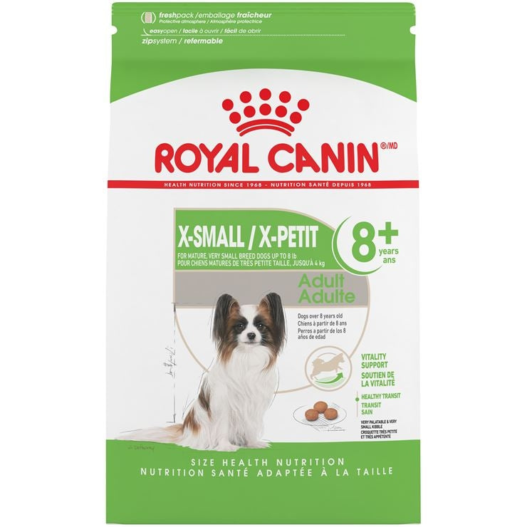 Royal Canin X-SMALL Mature 8+ Dog Food