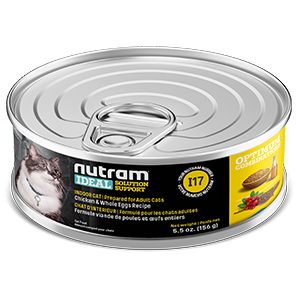 Nutram I17  Ideal Solution Support Indoor Wet / Canned Cat Food (156g)