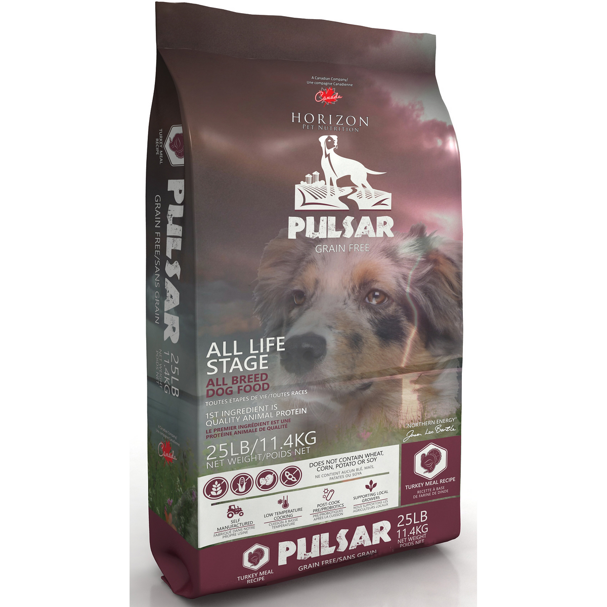 Horizon Pulsar Pulses and Turkey Formula Grain Free Dog Food