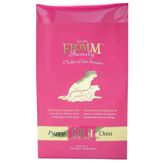 Fromm Gold PUPPY Food (Pink)