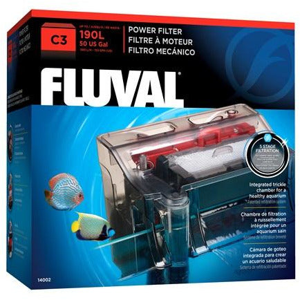 Fluval C3 Power Filter, 190 L (50 US Gal.)