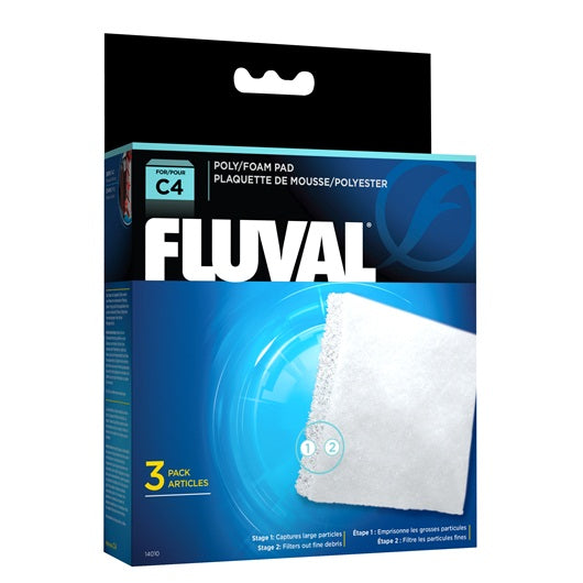 Fluval Poly / Foam Pad for C4 Power Filters
