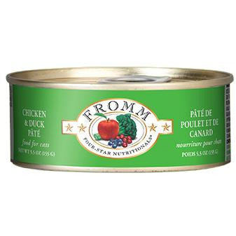 Fromm Four-Star Duck & Chicken Pate Canned Entrée Cat Food