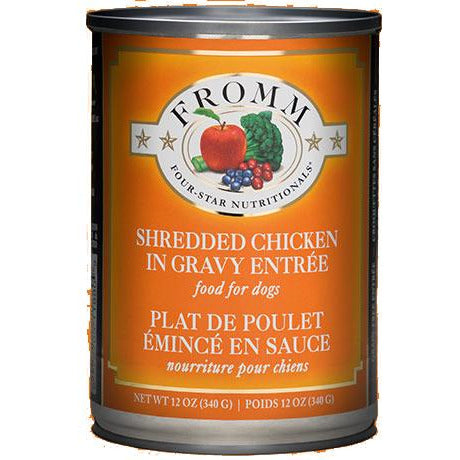 Fromm Four-Star - Shredded Chicken Entrée - Canned Dog Food (340g)