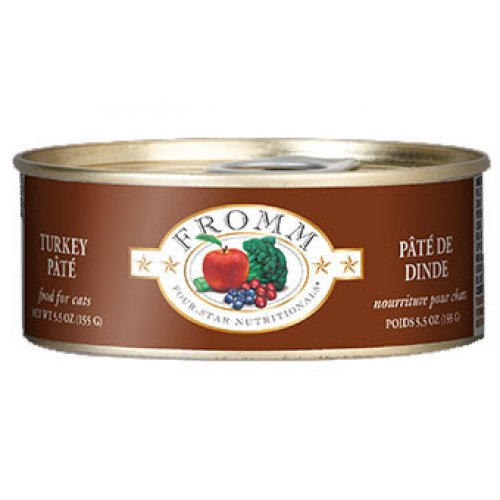 Fromm Four-Star Turkey Pate Canned Entrée Cat Food