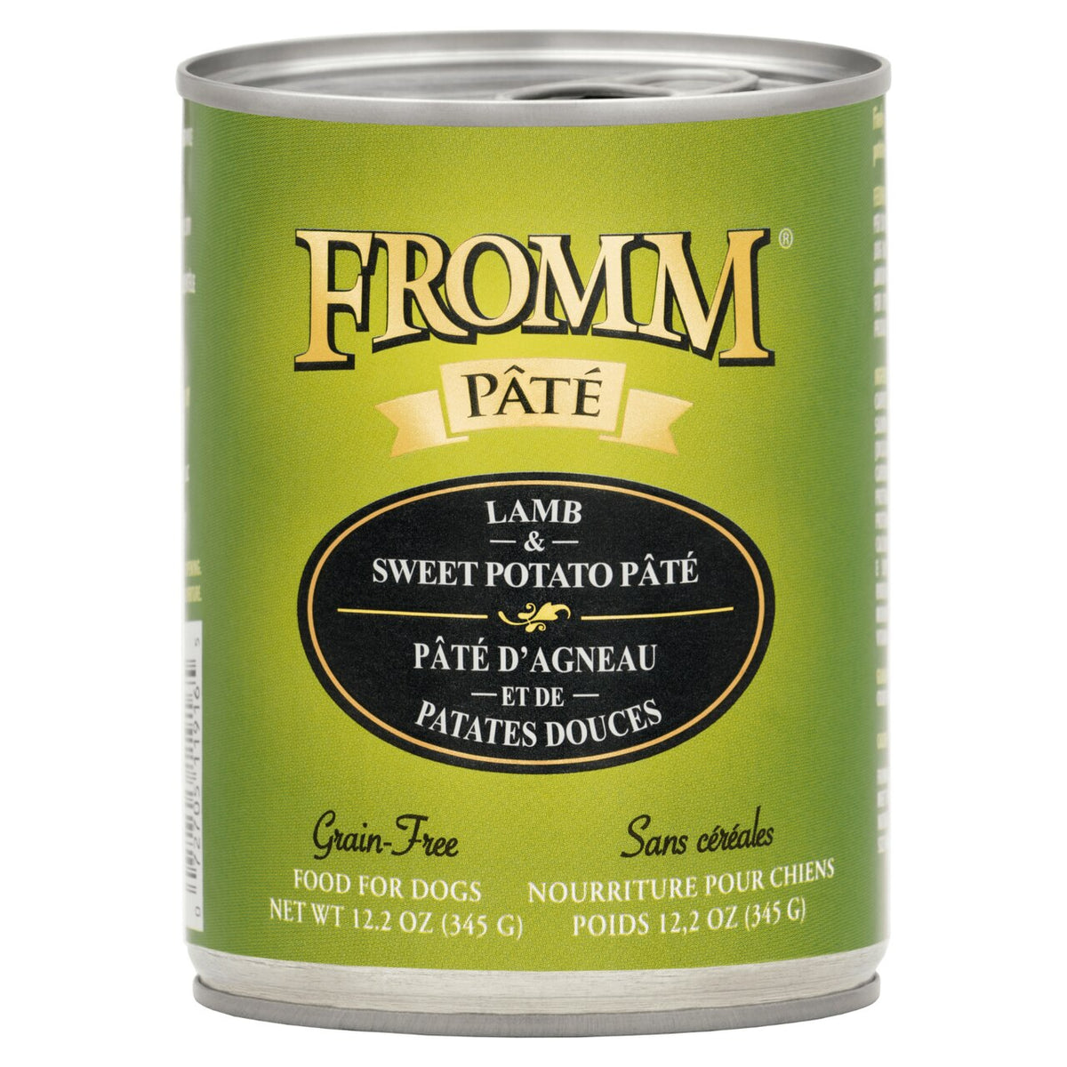 Fromm Pâté / Gold - Lamb & Sweet Potato - Canned Dog Food (345g)