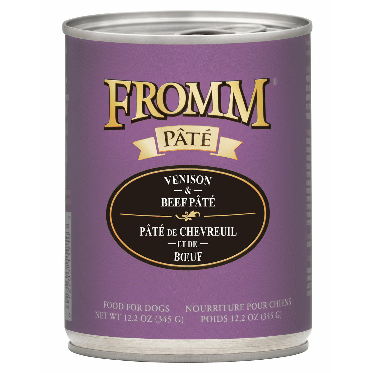 Fromm Pâté / Gold - Venison & Beef - Canned Dog Food (345g)
