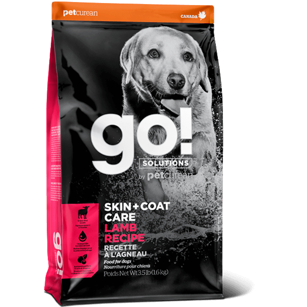 Go! Solutions Skin + Coat Care Lamb Recipe - Dog Food (3.5lb, 12lb, 25lb)