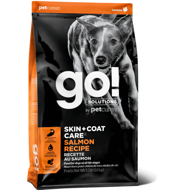 Go! Solutions Skin + Coat Care - Salmon Dog Food (3.5lb, 25lb)