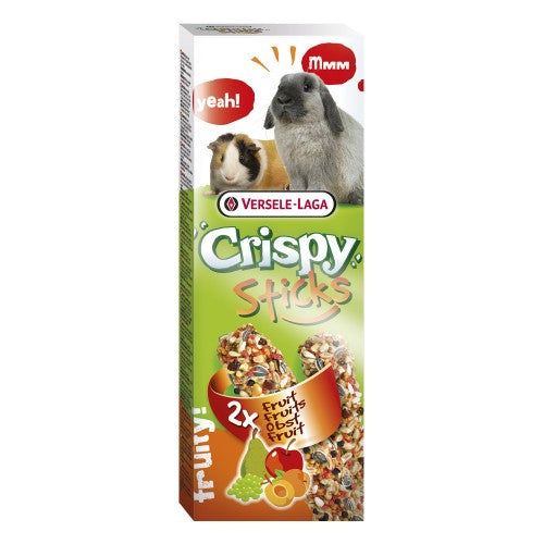 Versele Laga Crispy Sticks for rabbits and guinea pigs fruit flavored