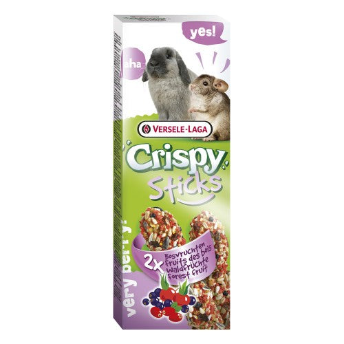 Versele Laga Crispy Sticks Forest Fruits for rabbits and chinchillas