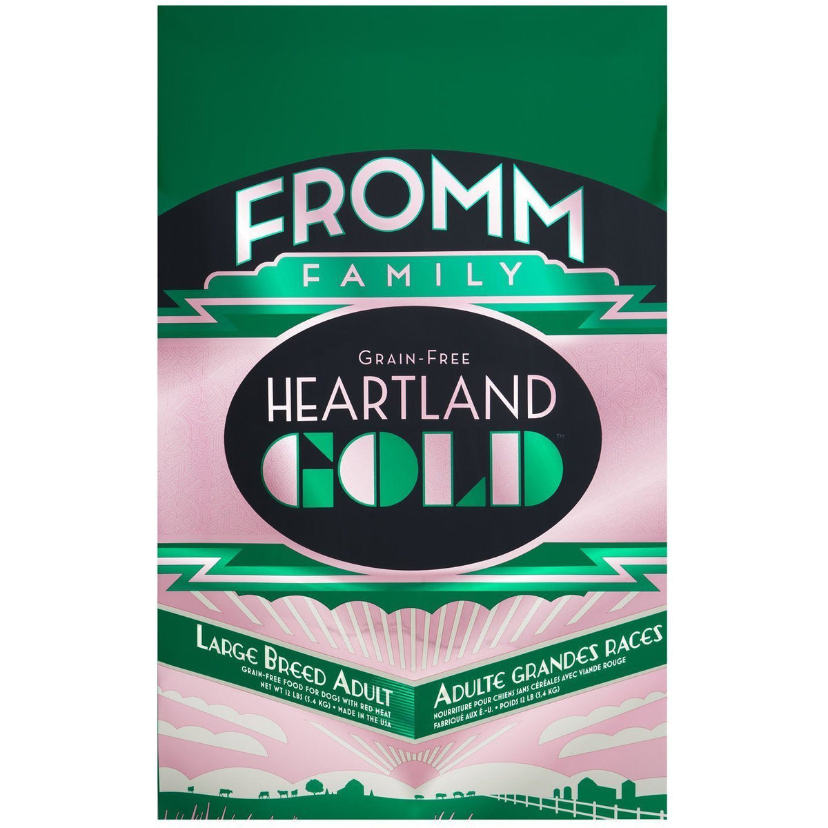 Fromm Heartland Gold Large Breed Dog Food (11.8kg)