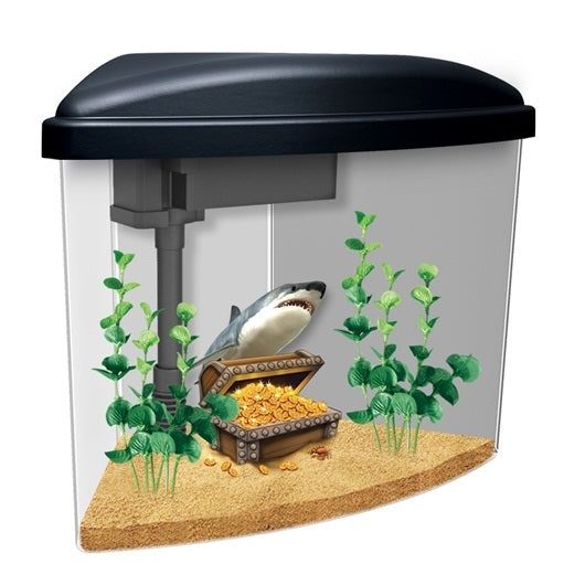 Marina Pirates Aquarium Kit - 3.7 L (1 US Gal.)