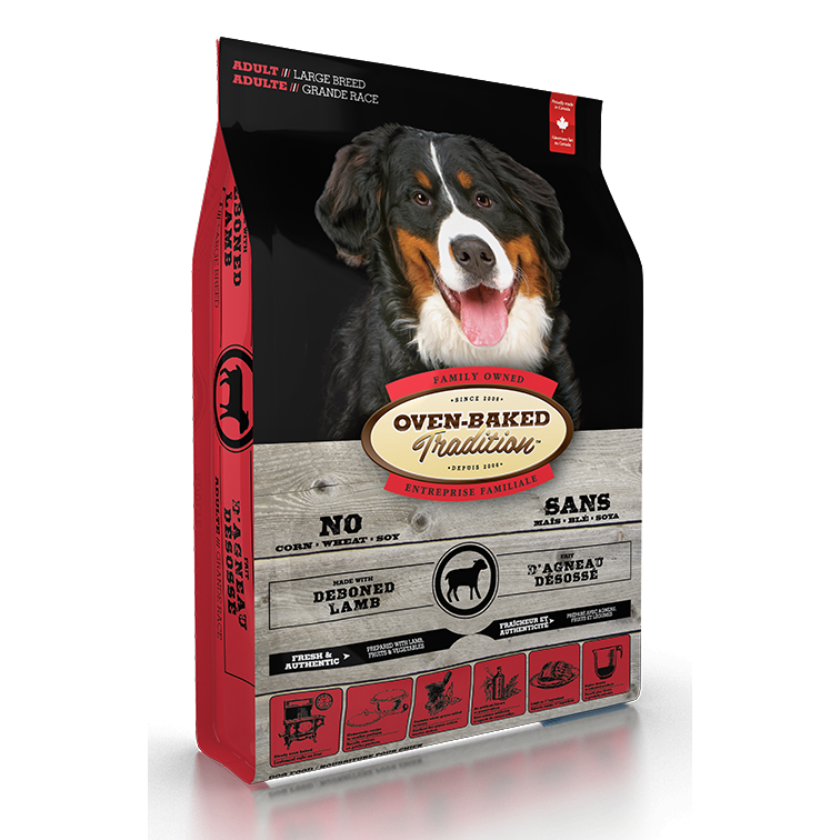 Oven Baked Tradition - Adult Large Breed Lamb Recipe Dog Food (25lb)