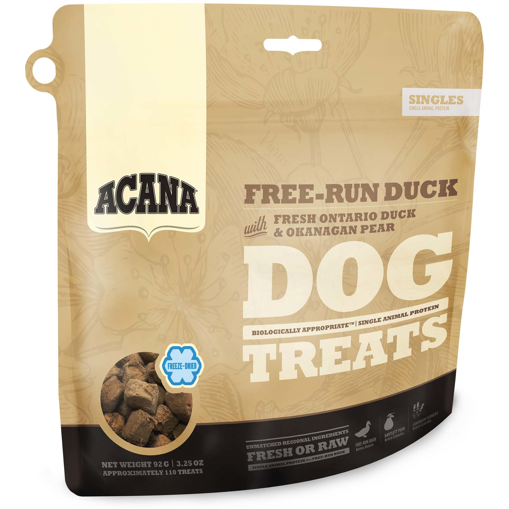 Acana Free-Run Duck Dog Treats (92g)