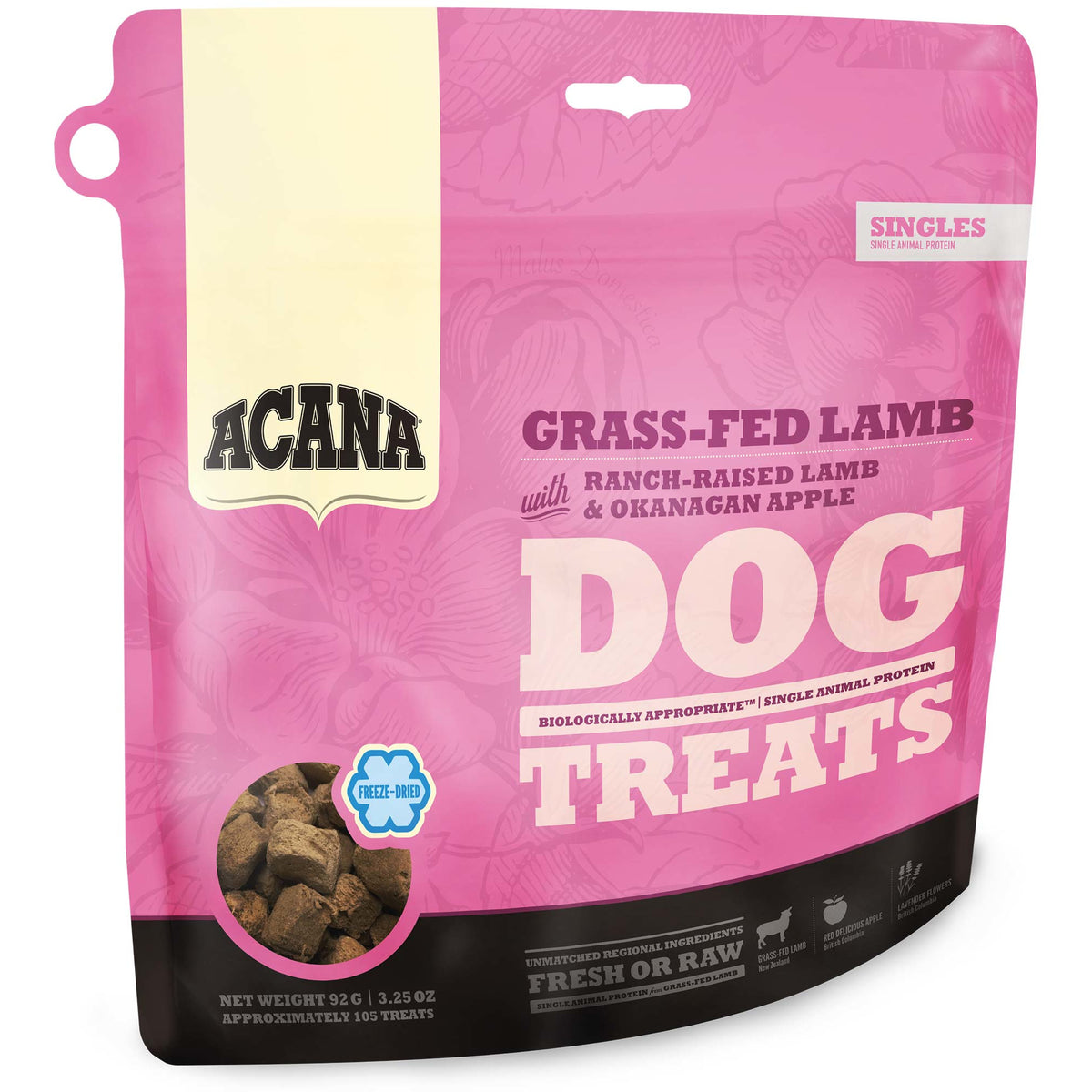Acana Grass-Fed Lamb Dog Treats (92g)