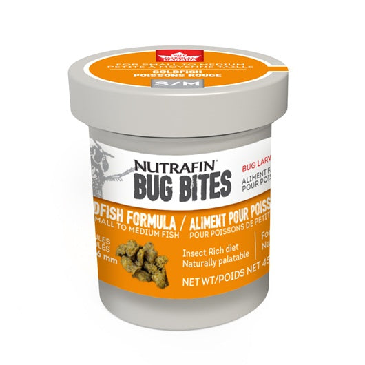Nutrafin Bug Bites - Granules for Goldfish (45g)
