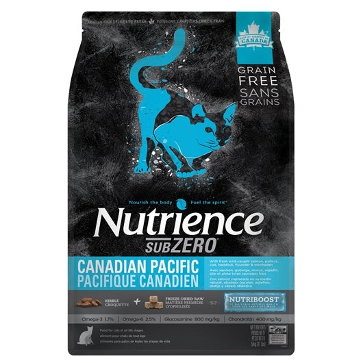 Nutrience Grain Free Subzero for Cats - Canadian Pacific - 2.27 kg (5 lbs)