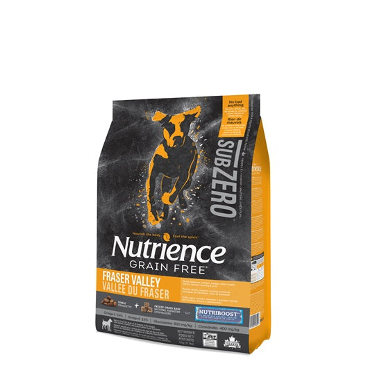 Nutrience Grain Free Subzero for Dogs - Fraser Valley - 5 kg