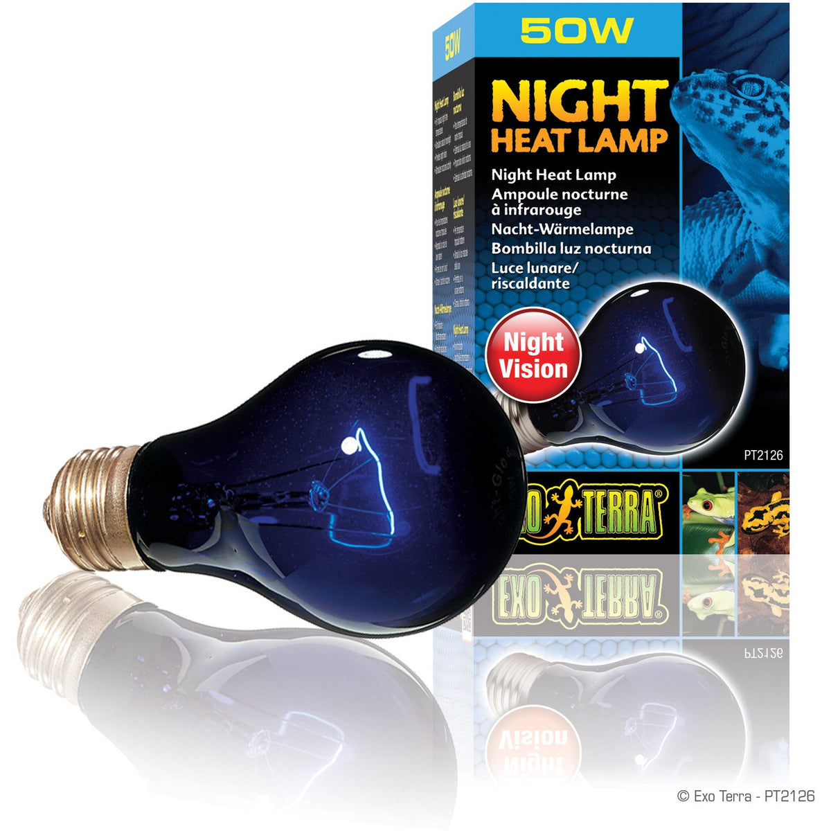 Exo Terra Night Heat Lamp - A19 / 50 W