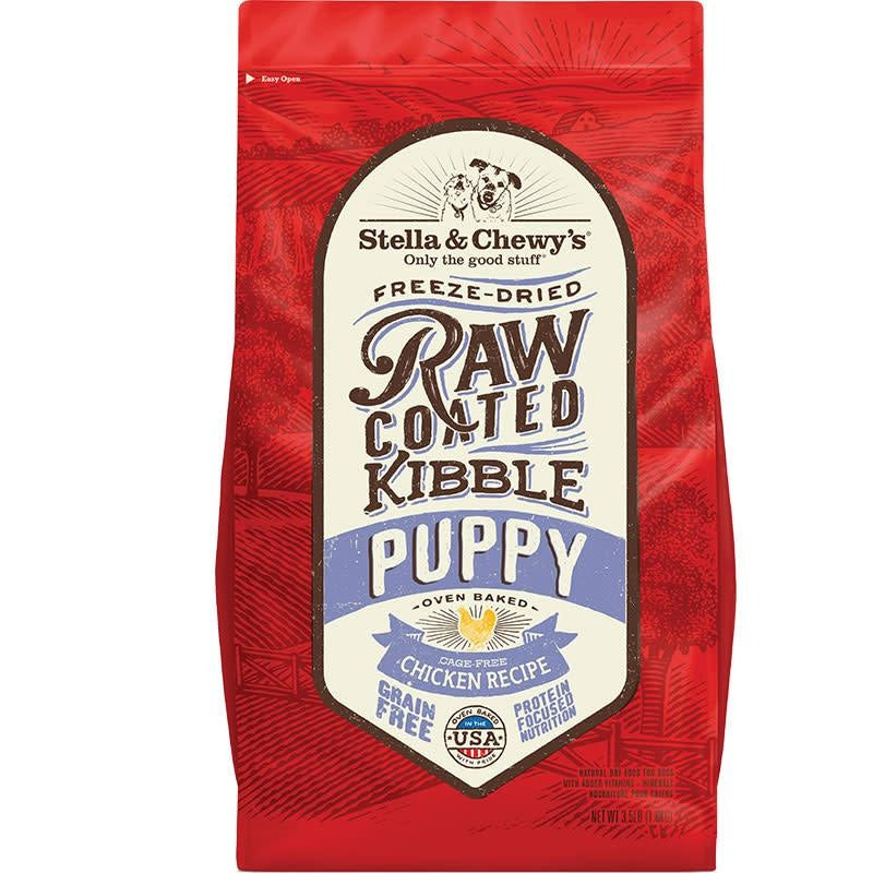 Stella & Chewy's - Raw Coated Kibble Puppy Food - Cage-Free Chicken Puppy/Dog Food