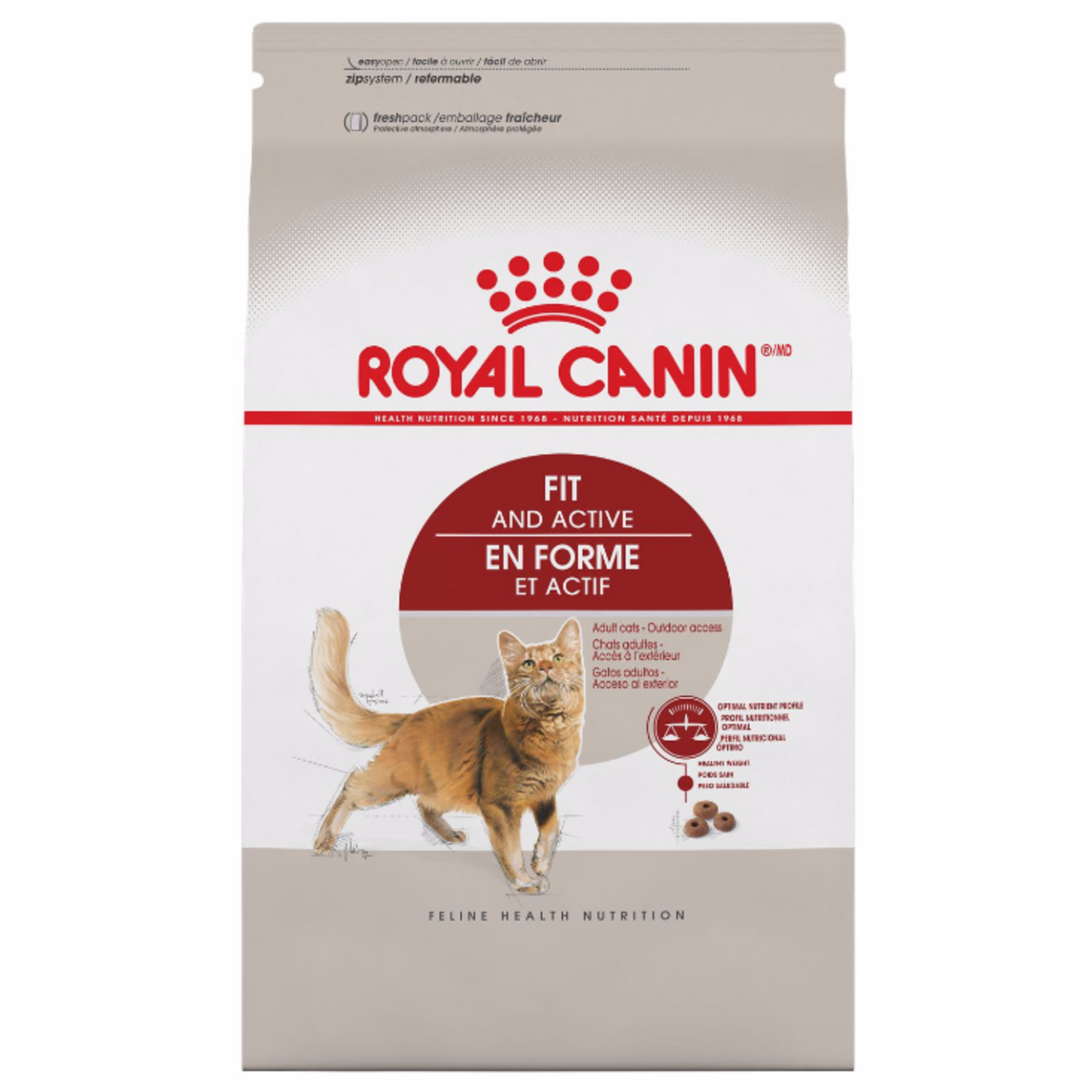 Royal Canin Fit and Active Adult Cat Food