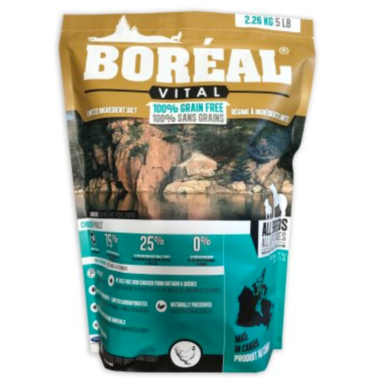 Boreal Vital Chicken Meal - Dog Food