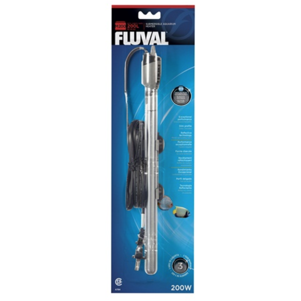 "Radiateur submersible FLUVAL""M""de 200 watts, 200 L (65 gal US)"