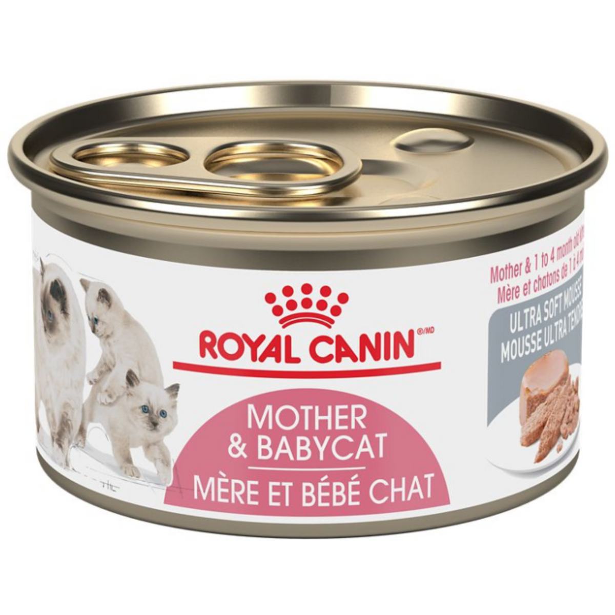 Royal Canin Mother & Babycat Ultra Soft Mousse (165g) - Wet Canned cat food