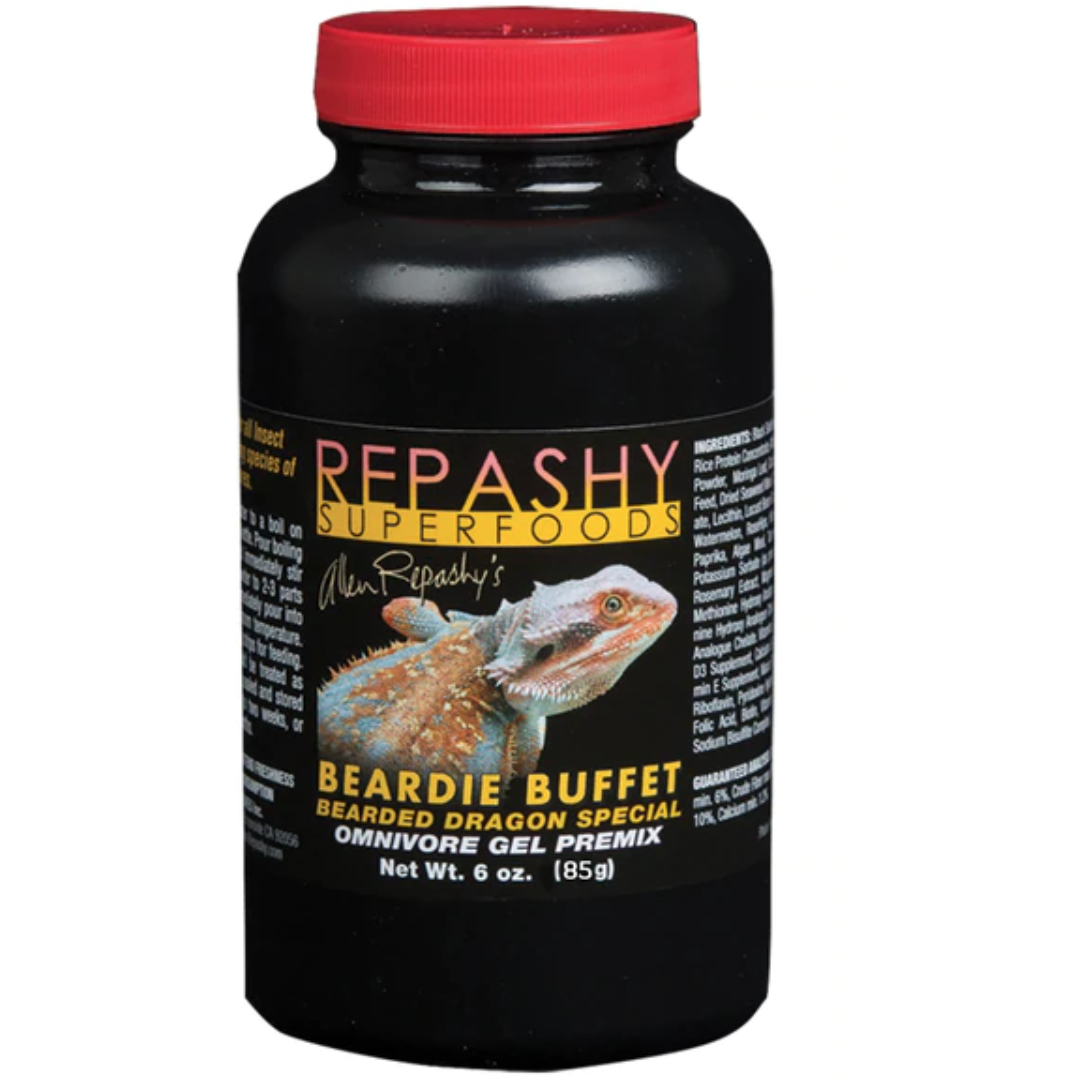 Repashy SuperFoods - Beardie Buffet - Bearded Dragon Special Omnivore Gel Premix (6oz)