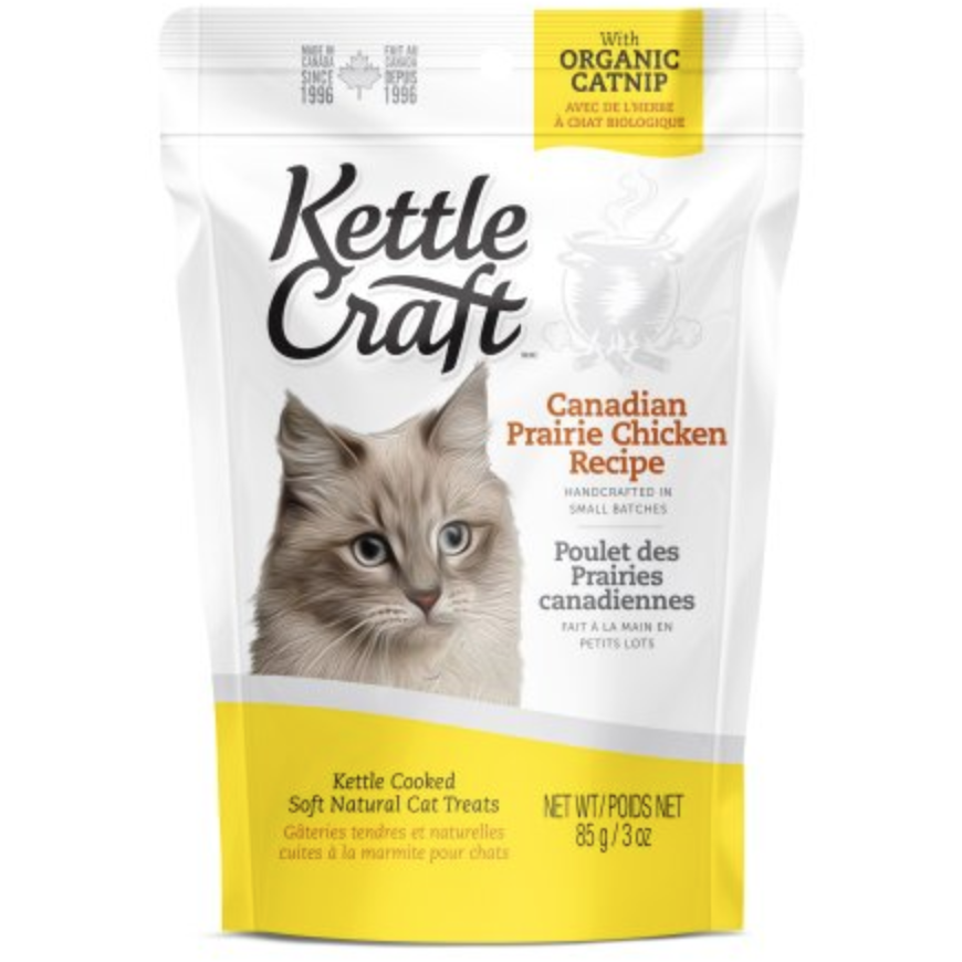 Kettle Craft Cat Treats - Canadian Prairie Chicken Recipe (85g)