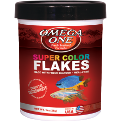 Omega One Super Color Flakes Fish Food