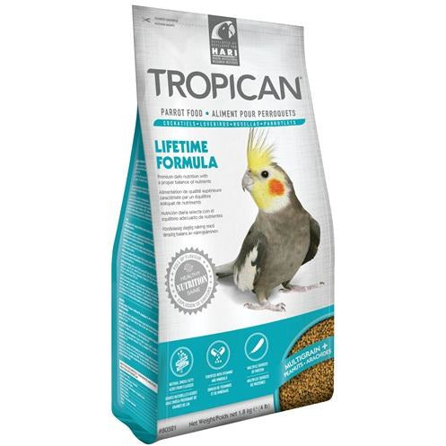 Tropican Lifetime Formula Granules for Cockatiels - 1.8 kg