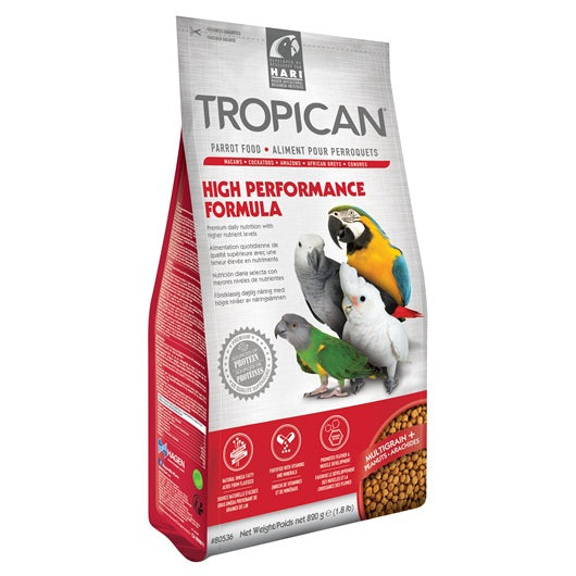 Tropican High Performance Granules for Parrots - 820 g