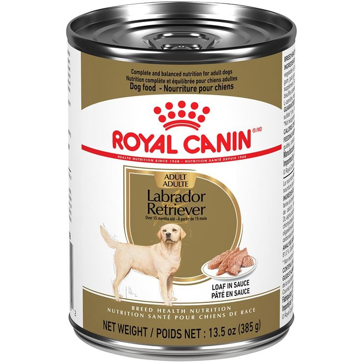 Royal Canin Labrador Retriever Adult Canned Dog Food (385g)
