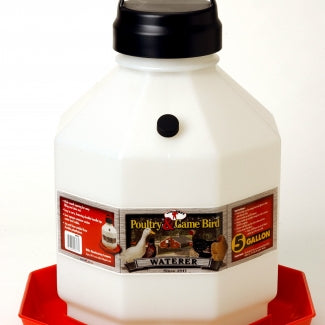 5 Gal Plastic Poultry Waterer (5 gal)