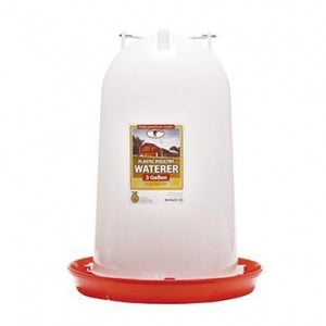 3 Gal Plastic Poultry Waterer (3 gal)