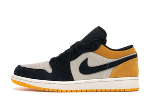 Jordan Air Jordan 1 Low 'Sail University Gold Black' - Street Peek
