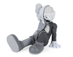 Kaws dissected resting place (grey)