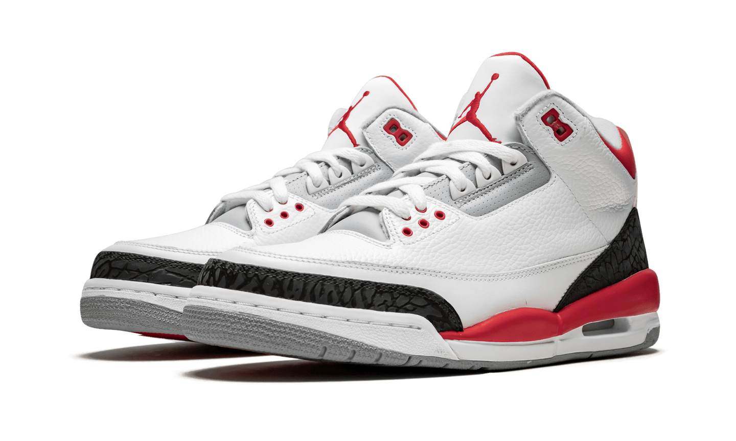 Jordan Air Jordan 3 Retro 'Fire Red' - Street Peek