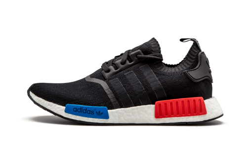 Adidas NMD R1 PK Core Black Red Blue - Street Peek
