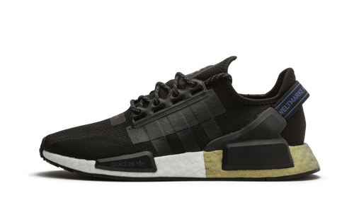 Adidas NMD V2 Core Black Metalic Gold - Street Peek