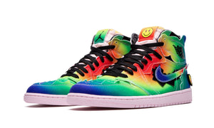 "Jordan Air Jordan 1 High Retro J.Balvin ""COLORES Y VIBRAS"" Sneakers - Street Peek"