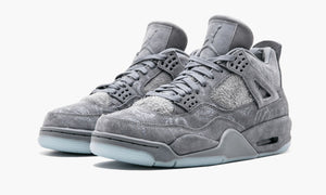 Jordan Air Jordan 4 Retro 'KAWS' (Grey) - Street Peek