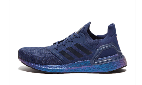 Adidas UltraBoost 20 Blue Metallic - Street Peek