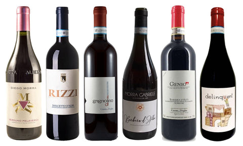EVERY DAY RED WINE SELECTION - Single Pack 6 bottles