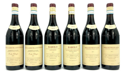 ACCOMASSO BAROLO 2012 & FULL RANGE OF WINES