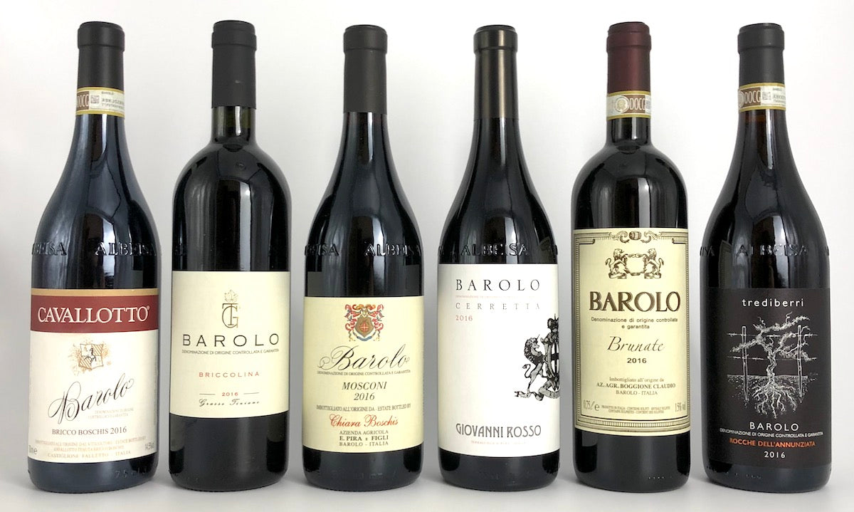 ALL-STAR 2016 BAROLO MIXED CASE - 1 Case Available