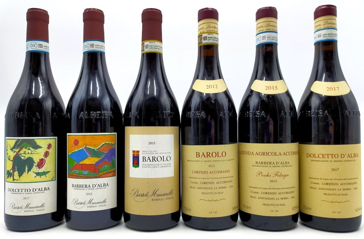 BAROLO MASCARELLO 2015 & ACCOMASSO 2012